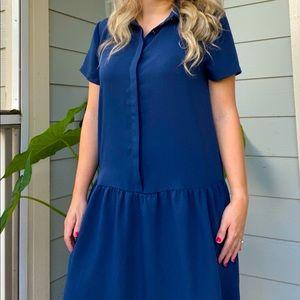 Cynthia Rowley | Blue Dress
